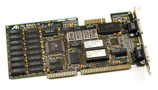 ATI VGA Wonder 16 Rev 2 (1988)