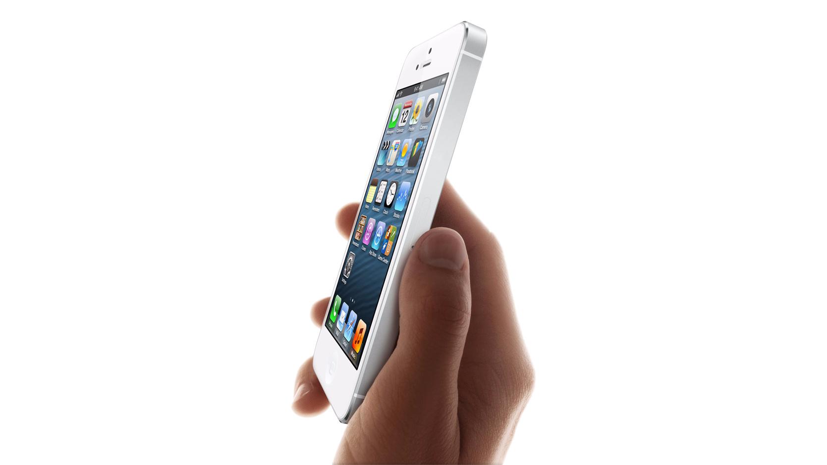 Das iPhone 5 war besonders dünn und leicht