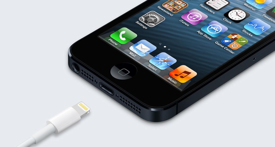 Lightning kam erstmals im iPhone 5 zum Einsatz