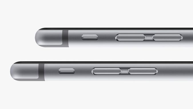 Markante Designmerkmale des iPhone 6 und iPhone 6 Plus