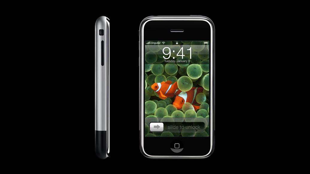 Das erste iPhone anno 2007