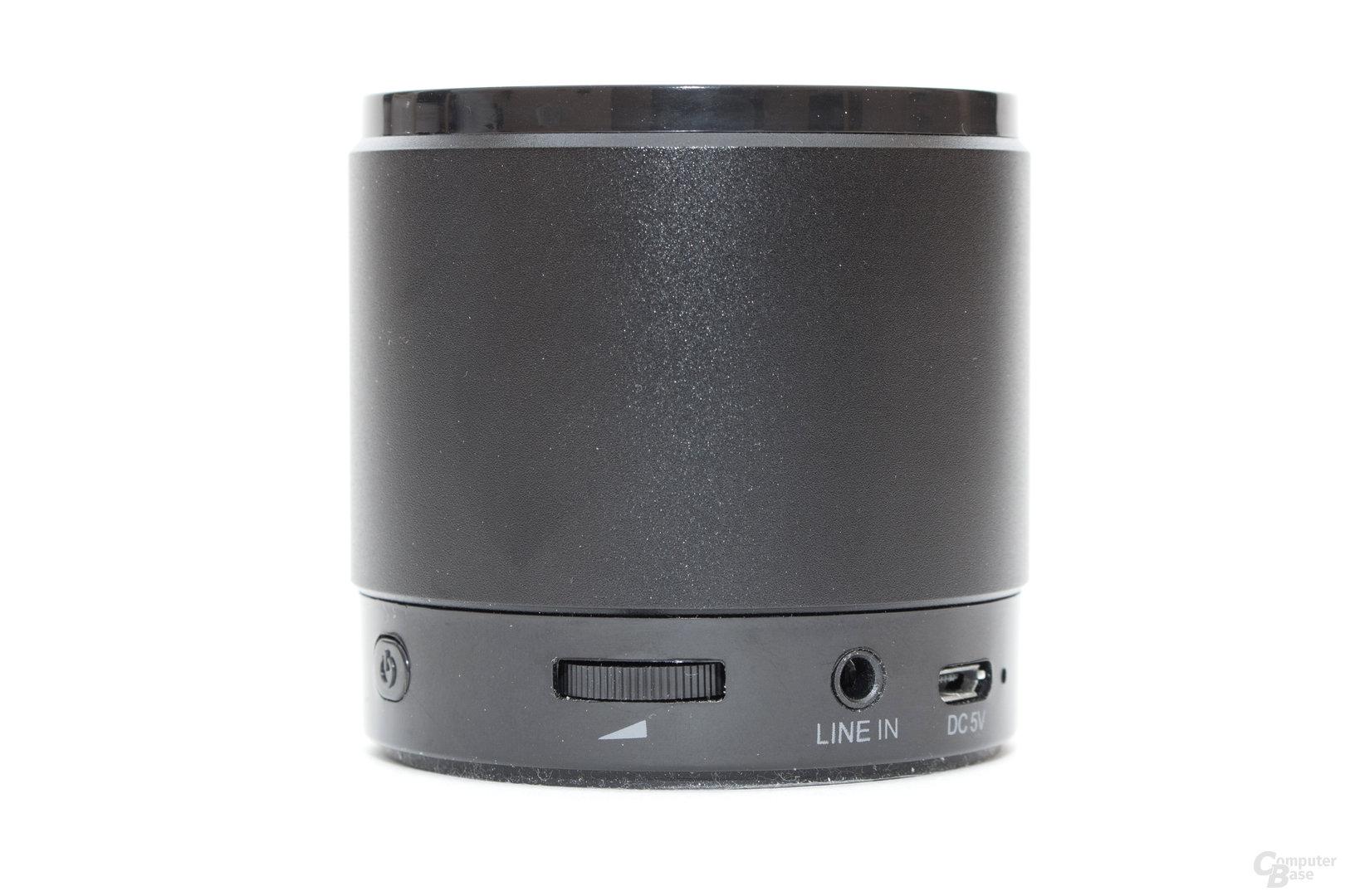 August MS425 mit analoger Lautstärkeregelung