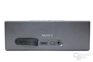 Creative MUVO 2 mit SD-Kartenspieler auf der Rückseite