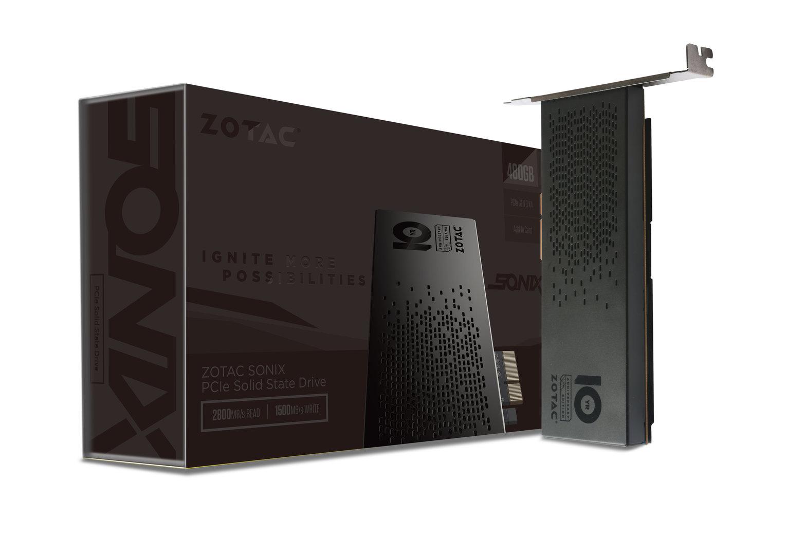 Zotac Sonix PCIe SSD Sonderedition