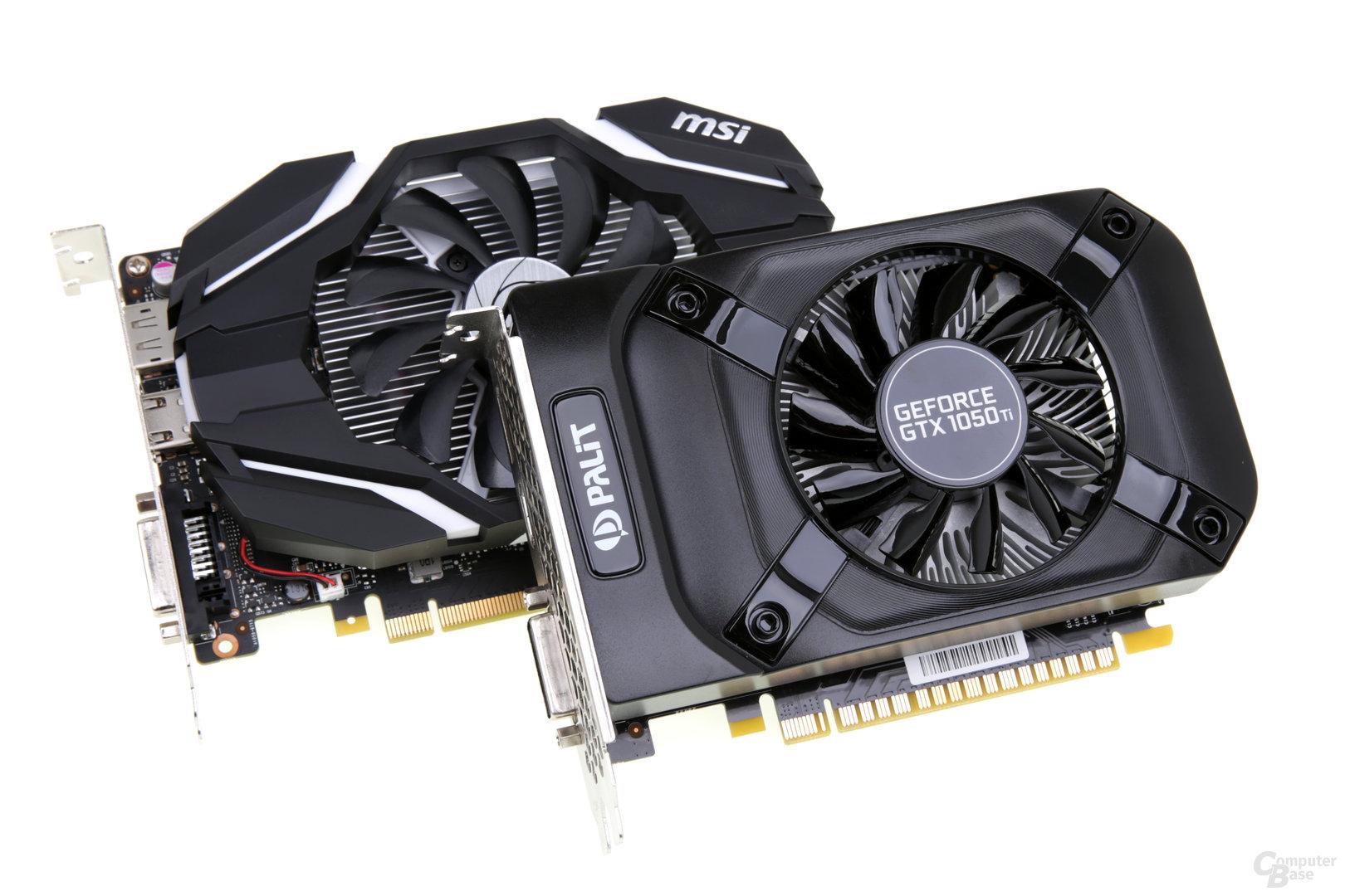 Nvidia GeForce GTX 1050 und GTX 1050 Ti