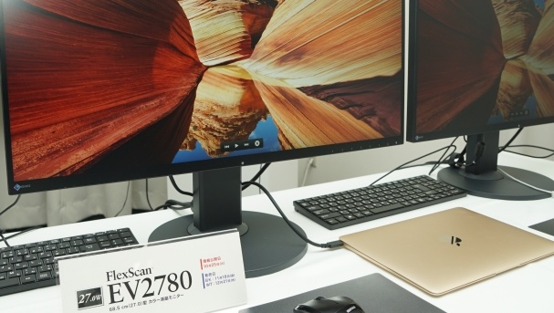 FlexScan EV2780: Eizos erster Monitor mit USB Typ-C