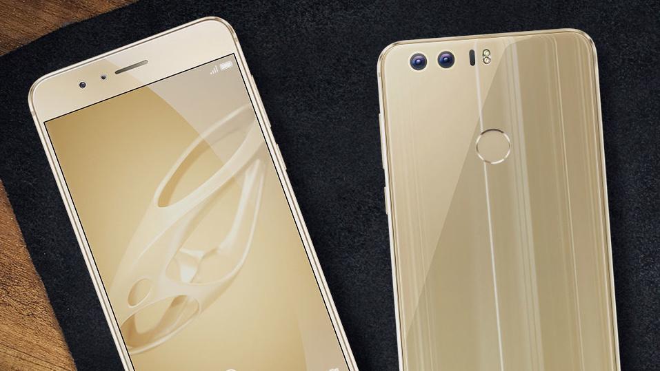 Honor 8: Goldene Premium-Variante mit 64GByte für 449Euro