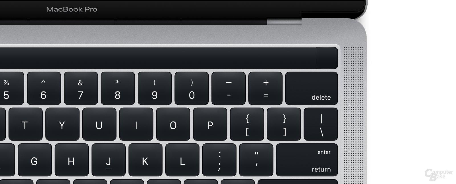 Das neue MacBook Pro 13 Zoll mit OLED-Leiste und Touch ID