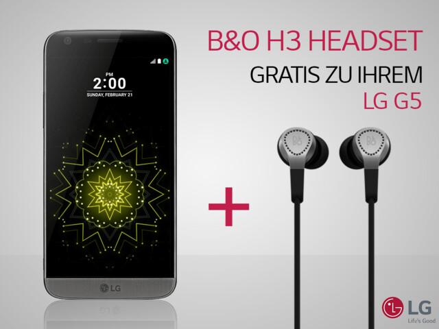 Aktion für das LG G5