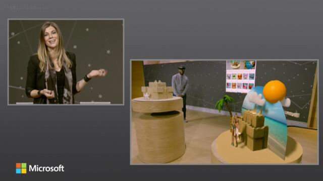 Mit HoloLens lassen sich 3D-Objekte vom Bildschirm lösen