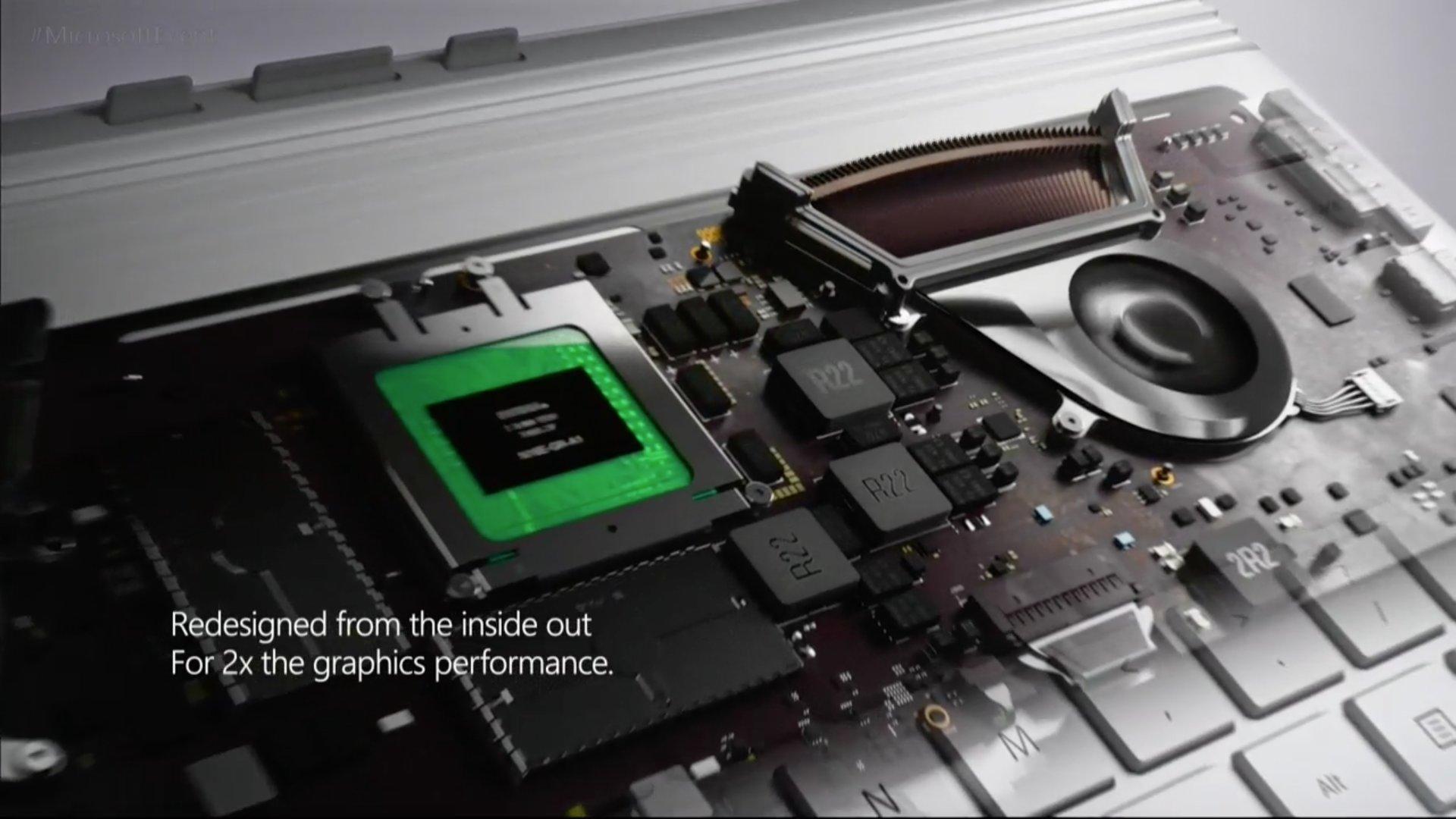Das neue Surface Book i7 mit schnellerer Nvidia-Grafik