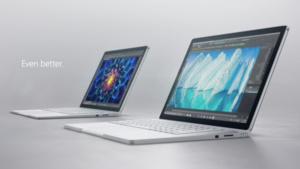 Surface Book i7: Zweifache Grafikleistung und 30 Prozent mehr Laufzeit
