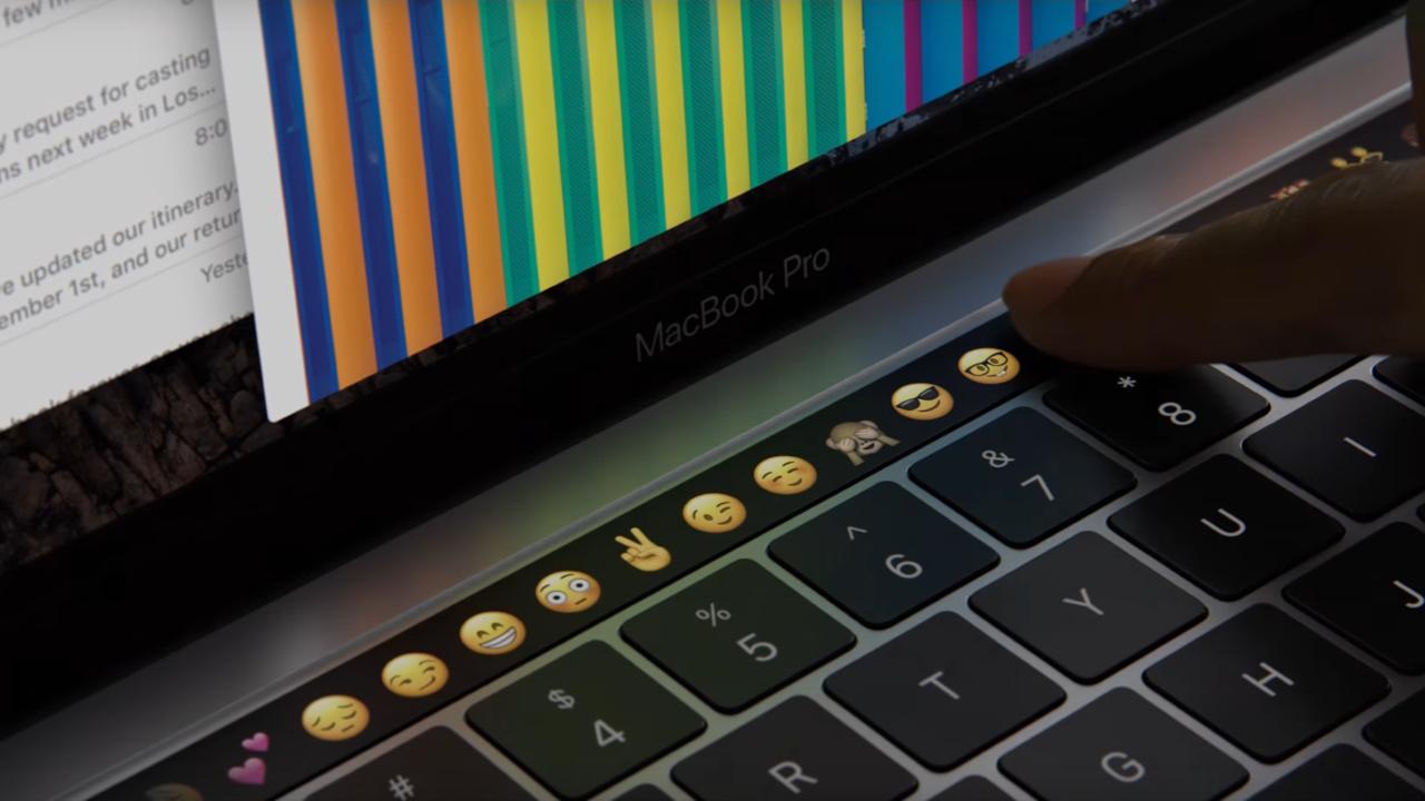 Apple: Neue MacBook Pro mit Touch Bar und 4 × Thunderbolt 3