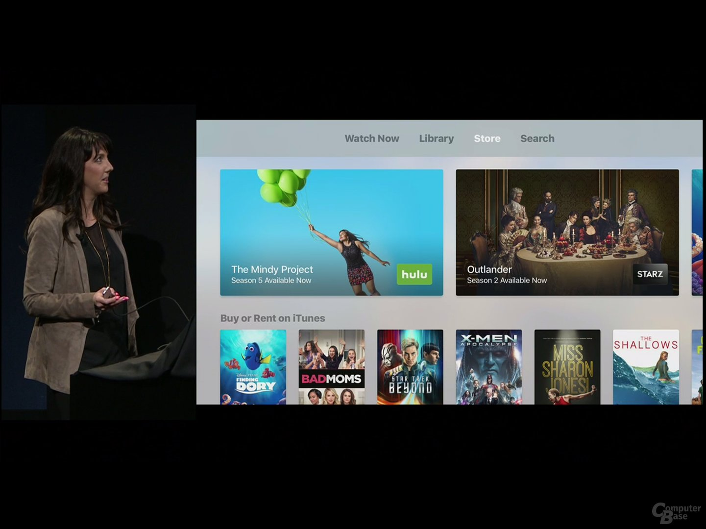 TV App: Store