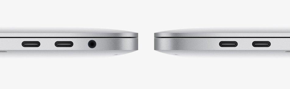 Das neue MacBook Pro setzt nur auf Thunderbolt 3
