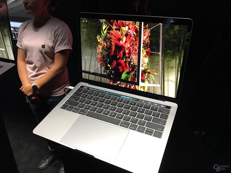Das neue MacBook Pro 2016 mit Touch Bar