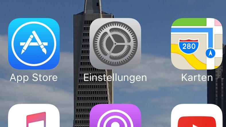 Apple: iOS 10.1.1 behebt Fehler der Health-App