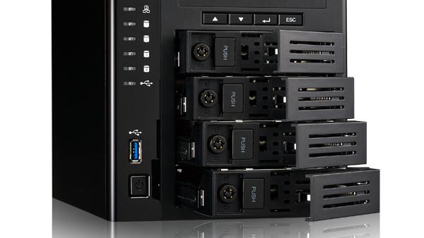 Jetzt verfügbar: Thecus N4810 kostet mit Celeron N3160 427 Euro