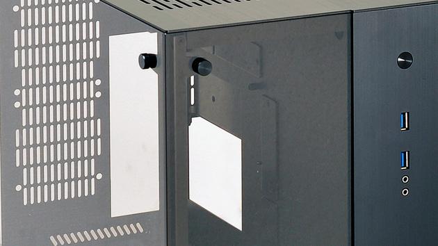 Lian Li PC-Q37: Ein ITX-Würfel mit zwei Kammern und viel Glas
