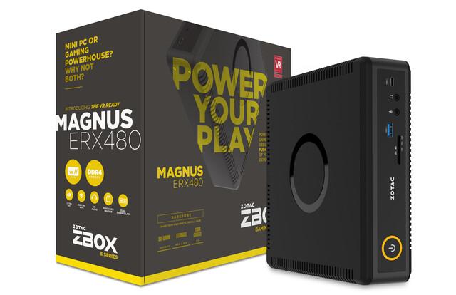 Zotac Zbox Magnus ERX480 mit Radeon RX 480