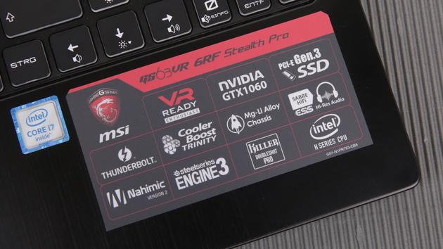 MSI GS63VR mit GTX 1060 im Test: 60 Prozent mehr Leistung für leichte Gaming-Notebooks