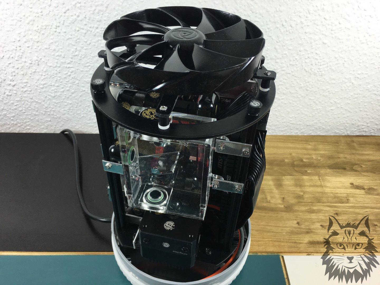 Oder es wird ein Mülleimer zum High-End-PC