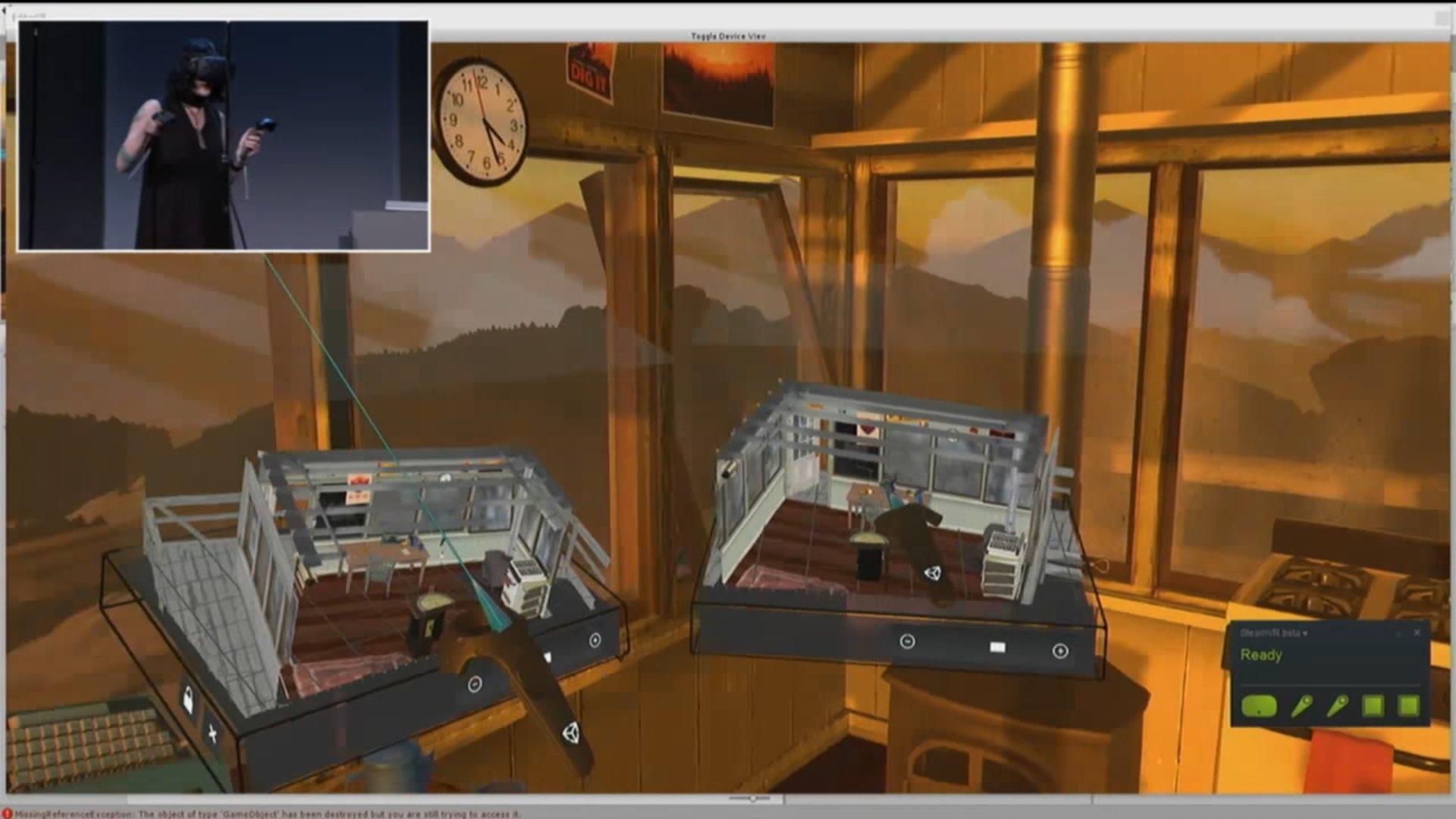 """Die """"Chessboard""""-Ansicht ist eine Miniaturversion der aktuell bearbeiteten 3D-Umgebung"""