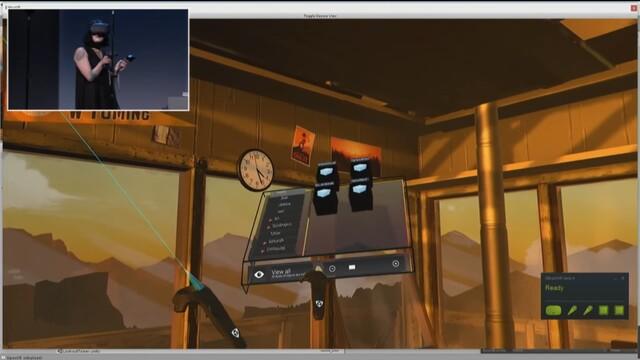 EditorVR: Workspaces sind frei in der 3D-Umgebung positionierbar
