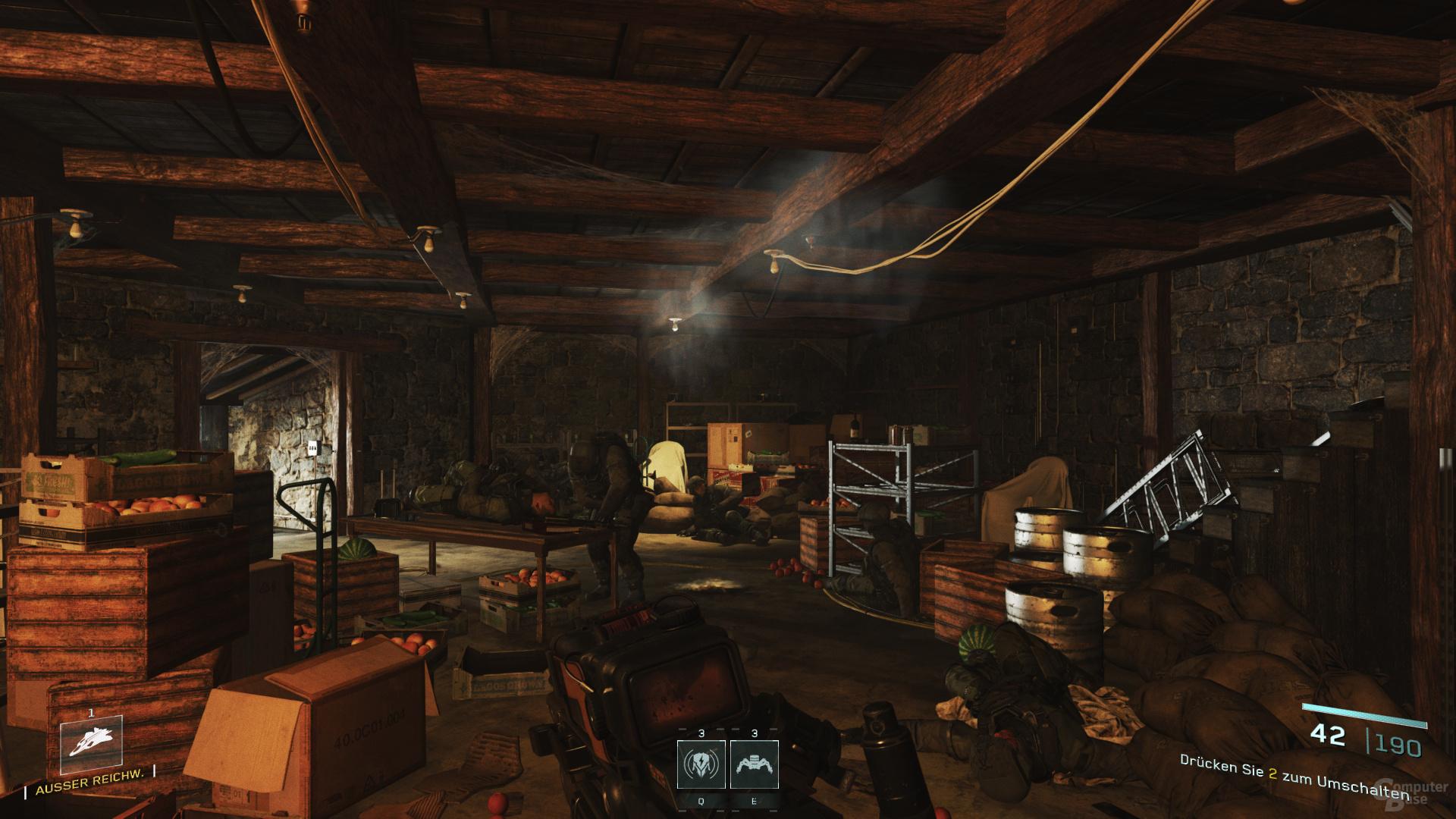 Infinite Warfare bei leicht reduzierten Details
