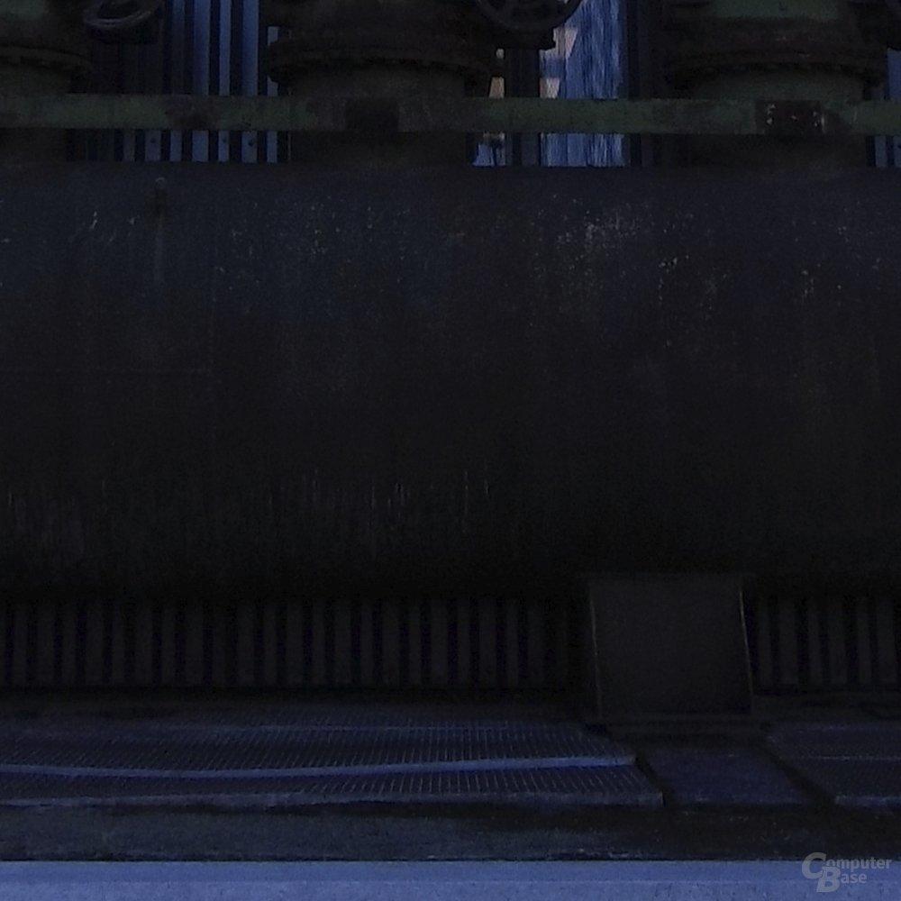 Hasselblad True Zoom – 2 Blenden unterbelichtet