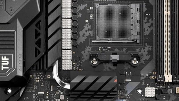 AM3+-Mainboard: Asus TUF Sabertooth 990FX R3.0 mit NVMe und USB 3.1