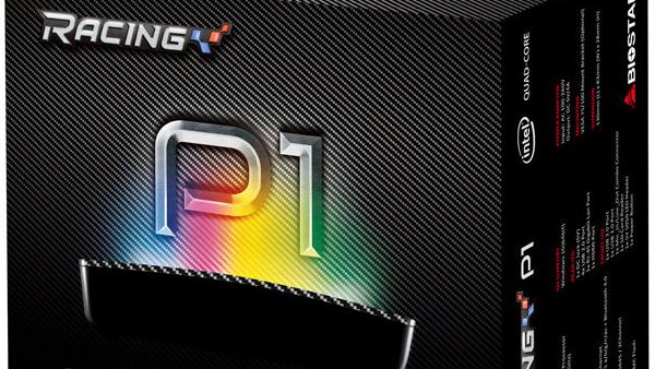 Biostar Racing P1: Mini-PC in Carbon-Optik mit Anschluss für LED ...