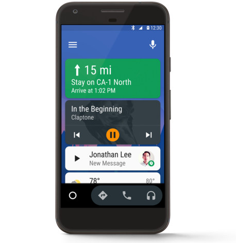 Android Auto für Smartphones