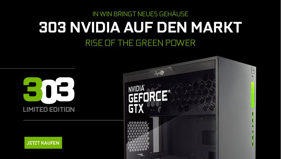 In Win 303 als Nvidia-Limited-Edition