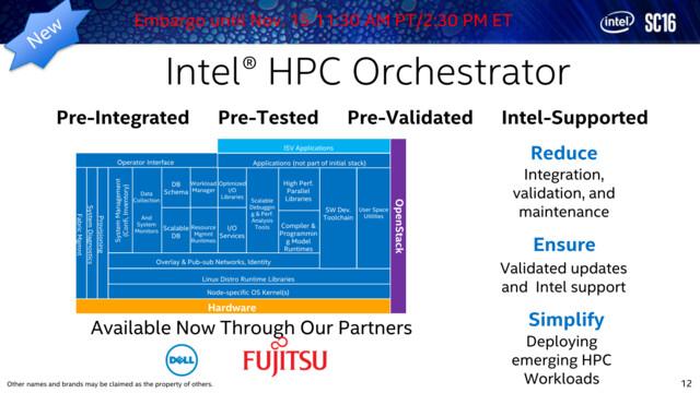 Intel HPC Orchestrator