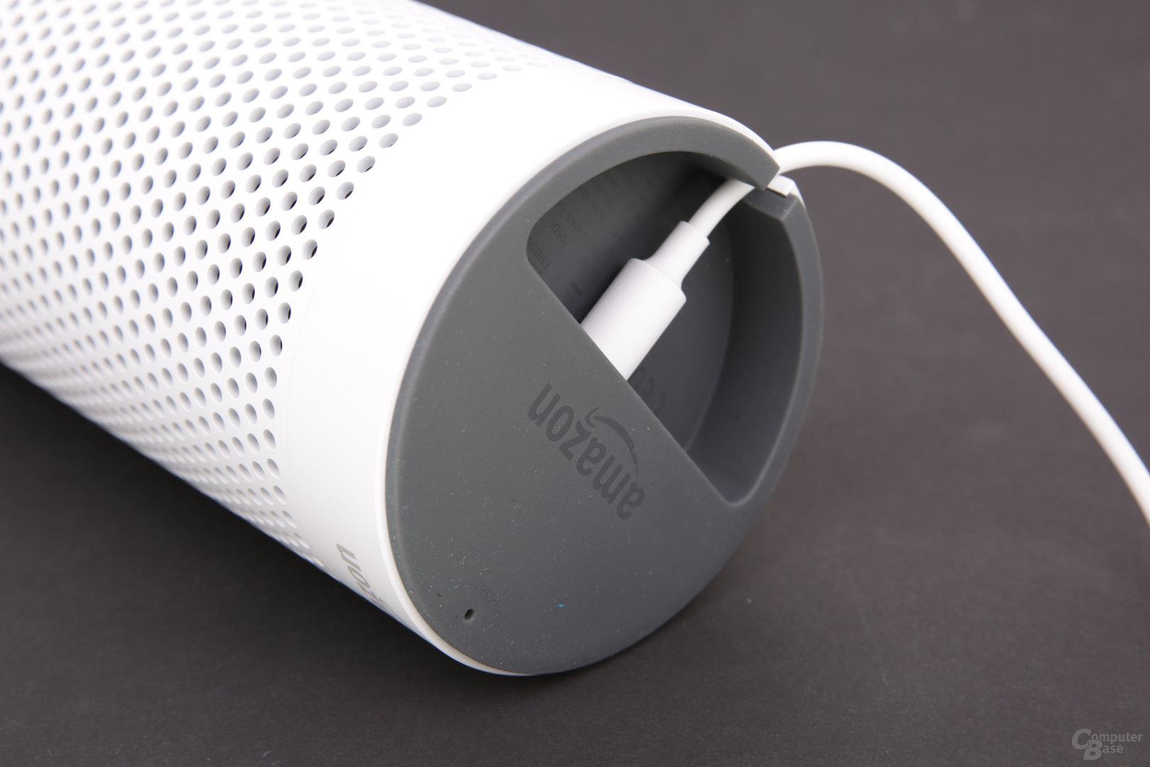 Stromanschluss des Amazon Echo