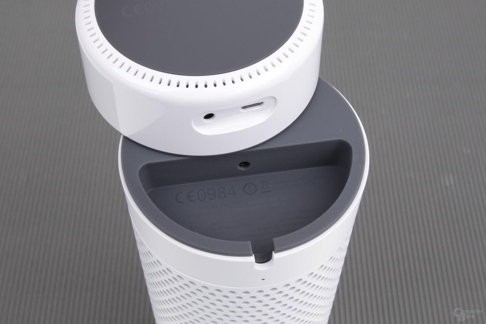 USB und Klinke für den Echo Dot