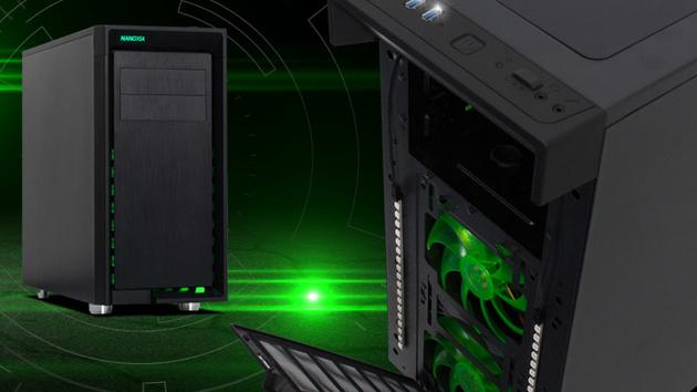 Nanoxia CoolForce 2 Rev. B: Midi-Tower erhält USB-Typ-C und Detailverbesserungen