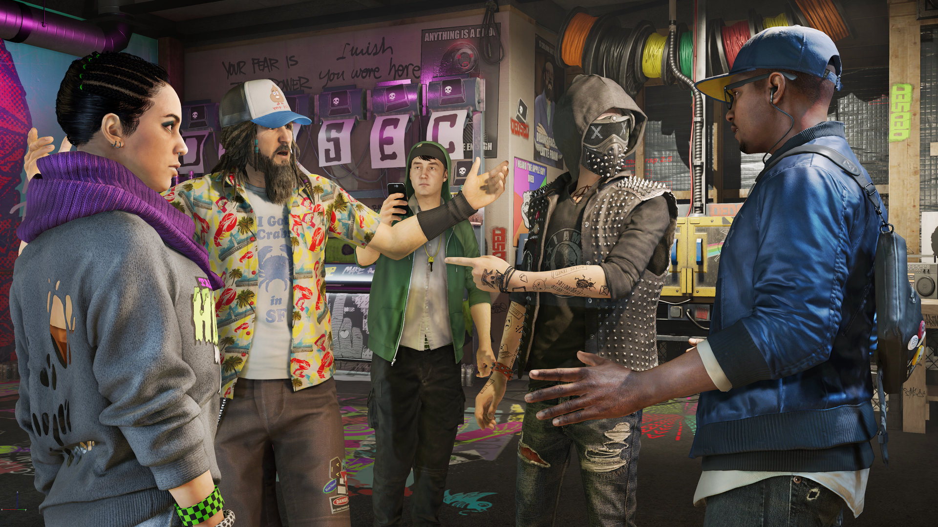 Die Hacker von Watch Dogs 2
