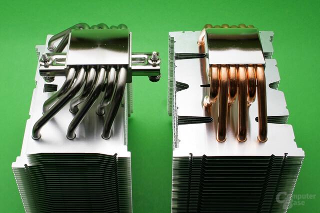 Scythe Mugen 5 (links) und Mugen 4 (rechts)