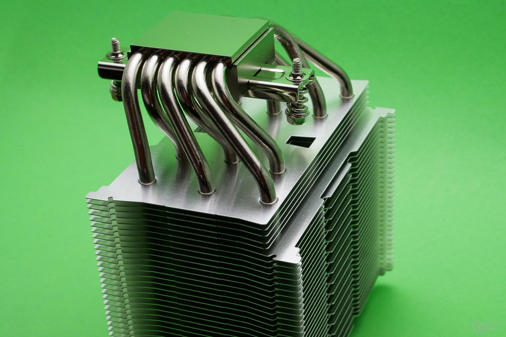 Scythe Mugen 5: Kühlturm mit Aussparung für hohen RAM