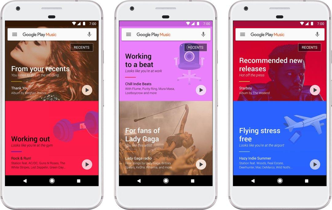 Das neue Google Play Music unter Android