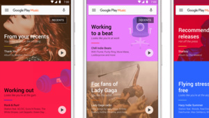 Neustart: Google Play Music ist noch stärker kontextbezogen