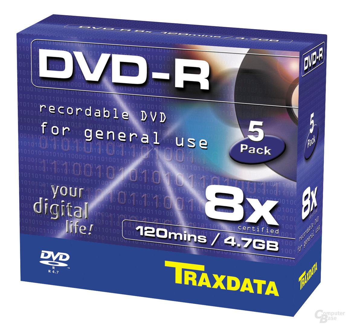 Traxdata 8x DVD-R Rohlinge