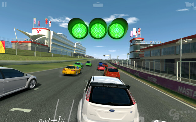 EA Real Racing 3 auf dem Galaxy Tab A 2016