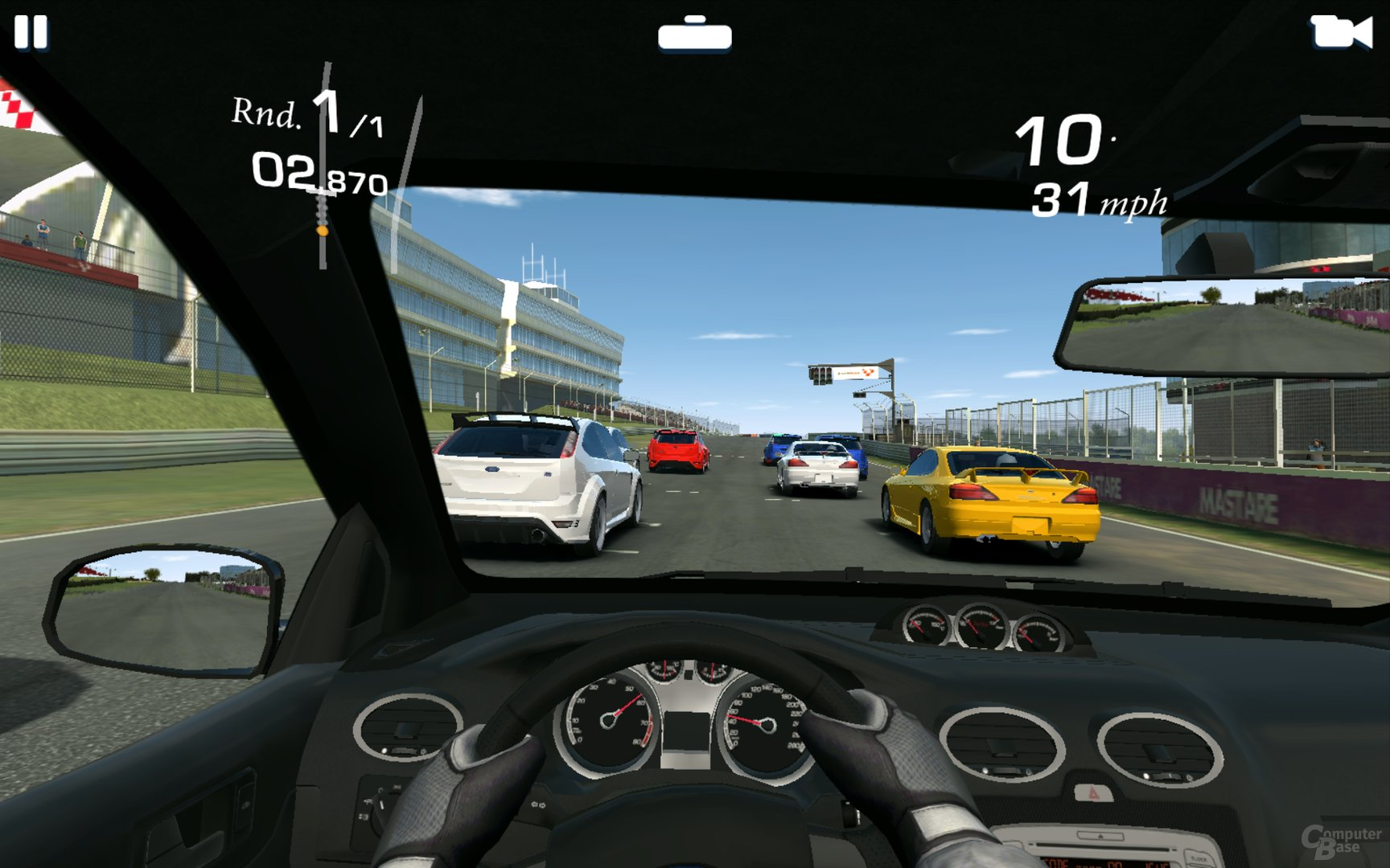 EA Real Racing 3 Archos 80 Oxygene