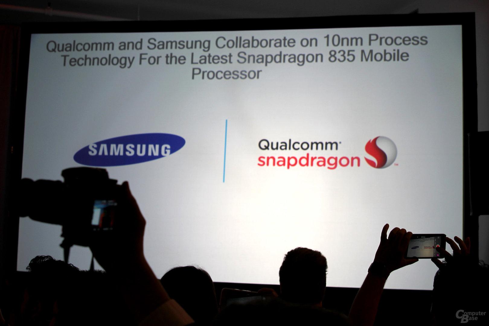 Qualcomm Snapdragon 835 in 10nm Fertigung bei Samsung
