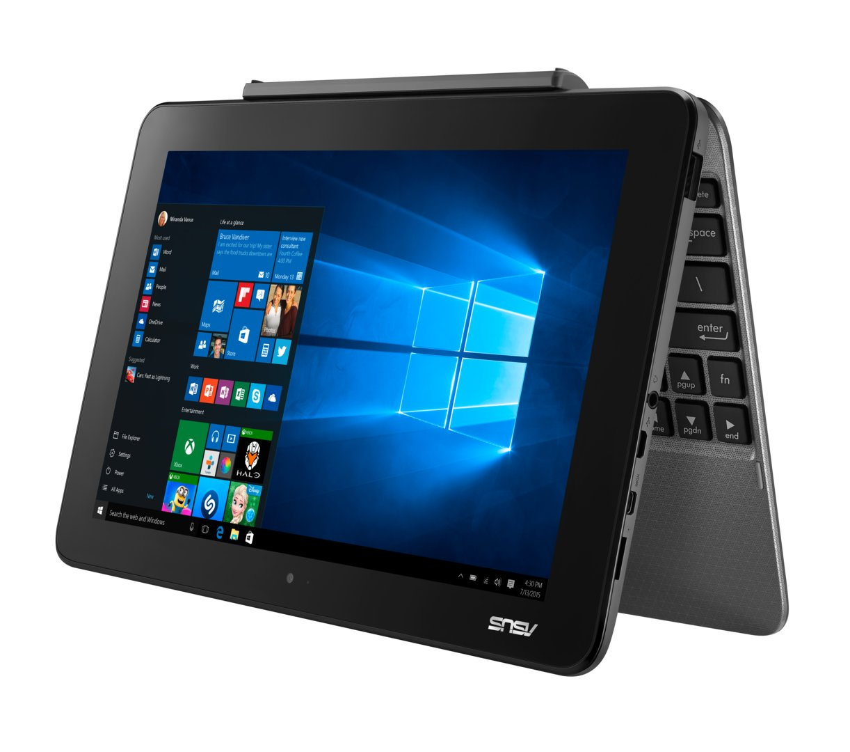 Asus Transformer Book T101 in Quartz Gray