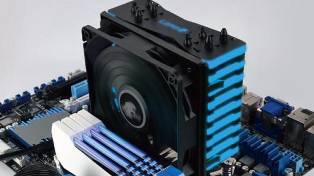 Lepa NEOllusion: CPU-Kühler mit ferngesteuerten RGB-LEDs