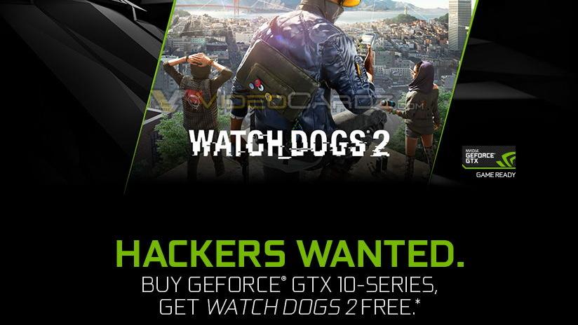 Aktion: Watch Dogs 2 gratis für Käufer von GTX 1070 und GTX 1080